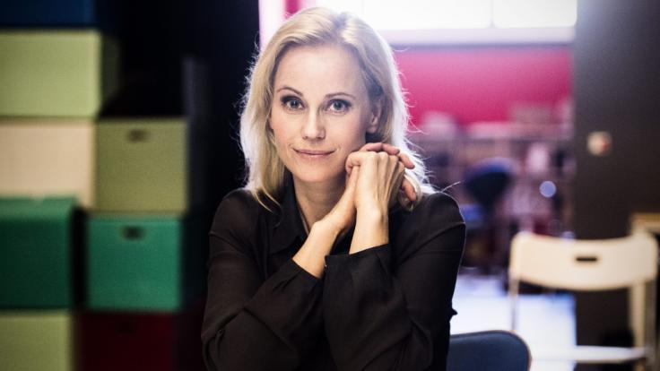 """Die schwedische Schauspielerin Sofia Helin ist dem deutschen TV-Publikums bestens bekannt aus der im ZDF ausgestrahlten Serie """"Die Brücke"""". (Foto)"""