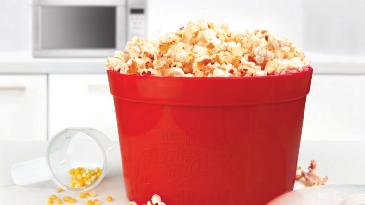 Noch nie war Popcorn selbst herstellen so einfach.