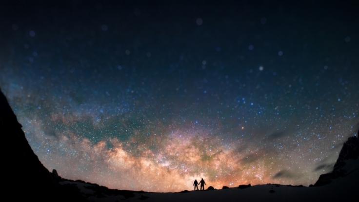 Leider sind im Februar 2016 keine Sternschnuppen am Himmel sichtbar.