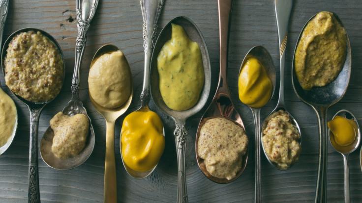 Ökotest hat in vielen Senf-Produkten Glyphosat nachgewiesen.