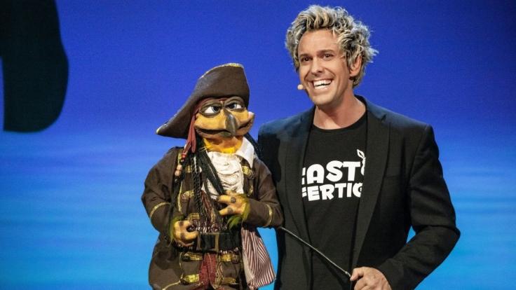 Sascha Grammel live! Fast fertig bei RTL (Foto)