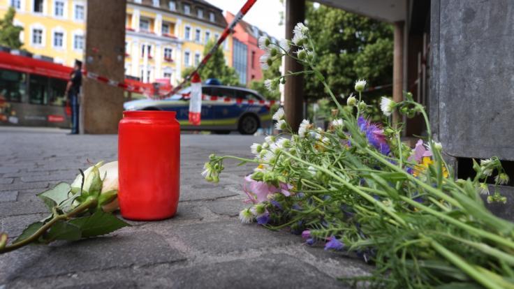 Nach dem tödlichen Messerangriff in Würzburg ist noch nicht klar, ob der Täter psychisch verwirrt handelte. (Foto)