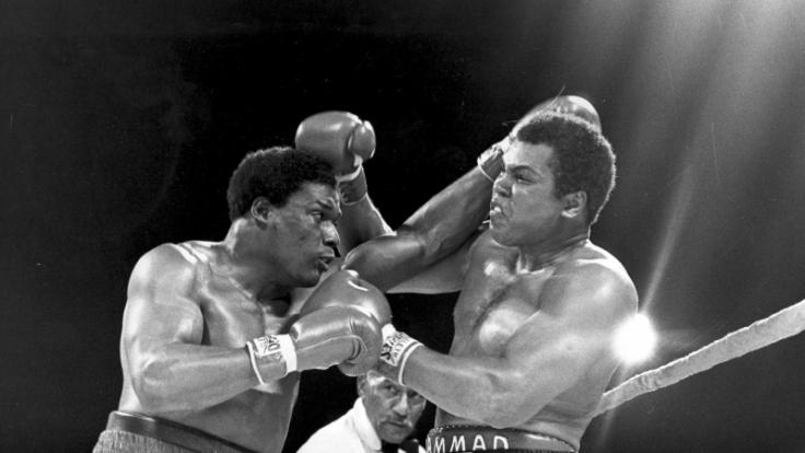 Aus dem Drama wurde das Trauma von Bahama: Trevor Berbick (links) gegen Muhammad Ali. (Foto)