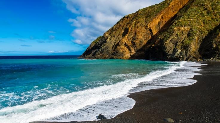 Auf der Kanaren-Insel La Gomera löste ein gigantischer Felssturz Angst vor einer riesigen Flutwelle aus. (Foto)