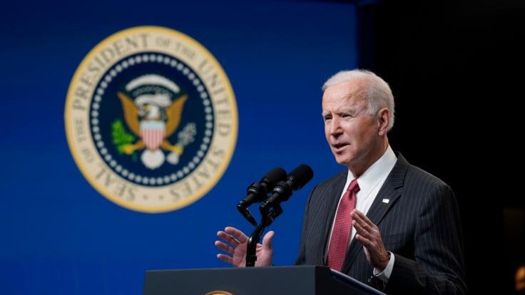 Joe Biden fand ungewöhnlich harte Worte für Donald Trump nach dem Scheitern des Impeachmentverfahrens (Foto)