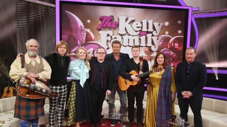 Vor 40 Jahren veröffentlichte die Kelly Family ihr erstes Album.