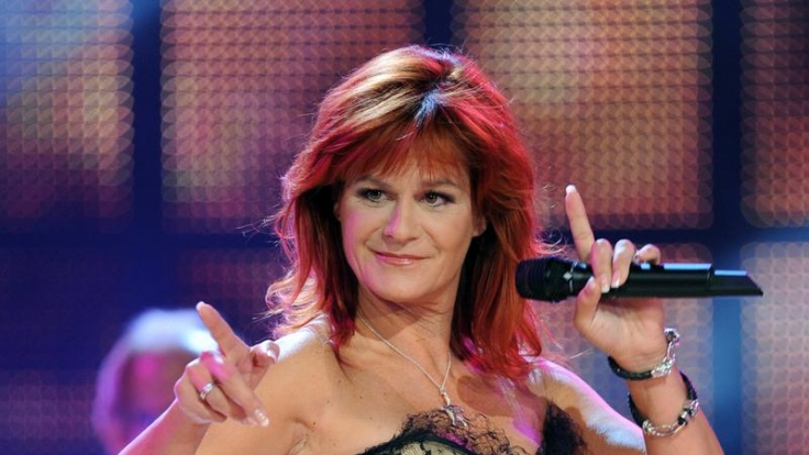 Andrea Berg zeigt sich gerne freizügig auf der Bühne.