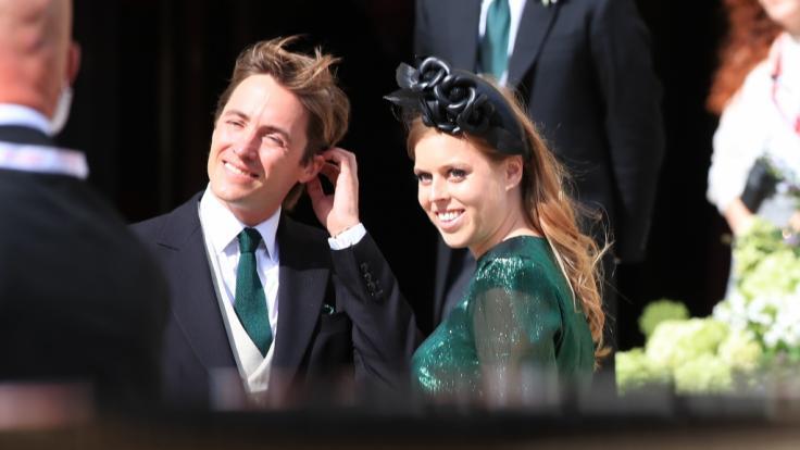 Prinzessin Beatrice von York und ihr Verlobter Edoardo Mapelli Mozzi mussten ihre Hochzeit notgedrungen verschieben. (Foto)