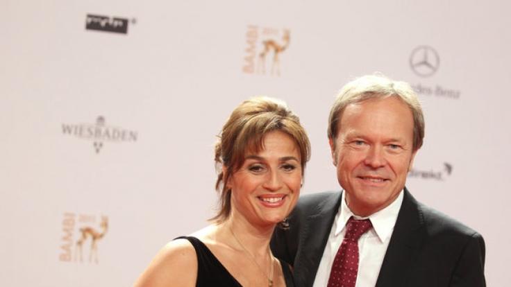Sandra Maischberger mit Ehemann Jan Kerhart (Foto)