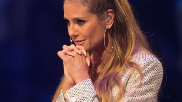 Im GNTM-Finale muss Heidi Klum auf Tom Kaulitz verzichten.