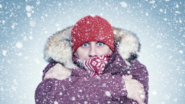 Tief Olaf bringt den Winter nach Deutschland! (Foto)