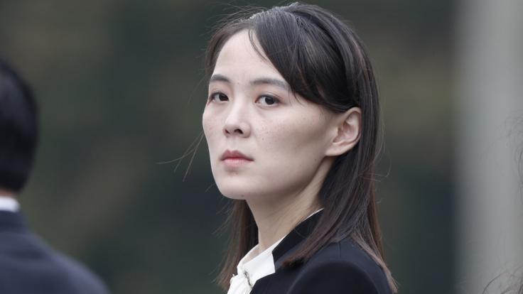 Kim Yo Jong, Schwester von Kim Jong Un, hat den USA eine Absage erteilt. (Foto)