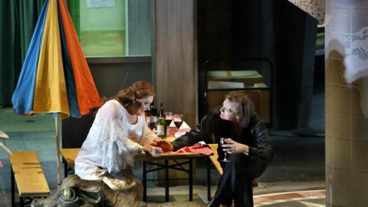 Die Inszenierung «Siegfried» mit Catherine Foster als Brünnhilde und Lance Ryan in der Titelrolle sorgen für reichlich Skandale.