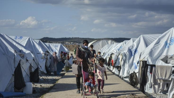 Die Zustände im Flüchtlingslager Kara Tepe auf Lesbos sind katastrophal, doch Europa schaut weg.
