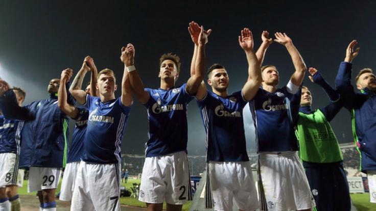Der FC Schalke 04 kann in der Europa-League nun auf ein Weiterkommen hoffen.