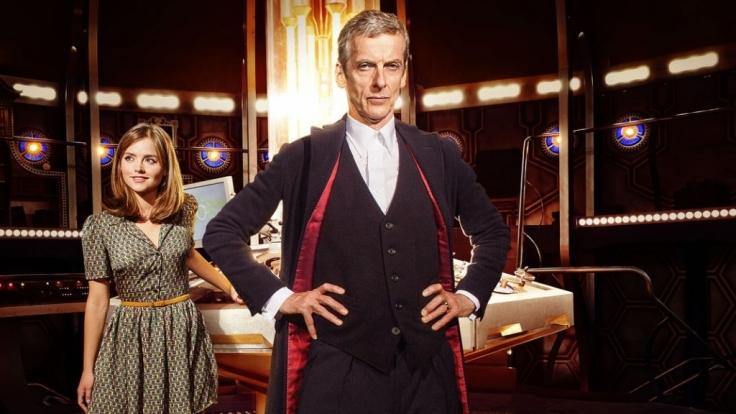 """Der zwölfte Doctor (Peter Capaldi, hier mit Companion Jenna """"Clara Oswald"""" Coleman) ist viel ernster und nüchterner als sein Vorgänger Matt Smith als der elfte Doctor. (Foto)"""