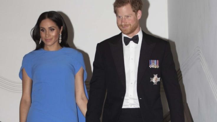 Meghan Markle und Prinz Harry werden im Jahr 2019 zum ersten Mal Eltern.
