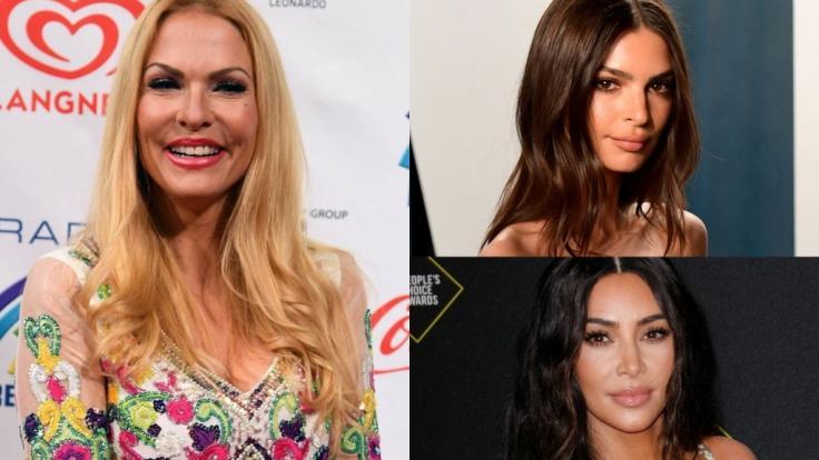 Sonya Kraus, Kim Kardashian und Emily Ratajkowski fanden sich in dieser Woche in den Promi-News wieder. (Foto)