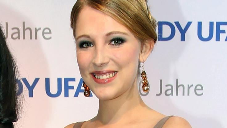 Iris Mareike Steen spielt bei GZSZ die Lilly Seefeld.
