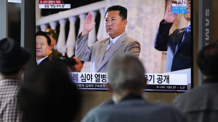 Kim Jong-un hat wieder Raketen getestet. (Foto)