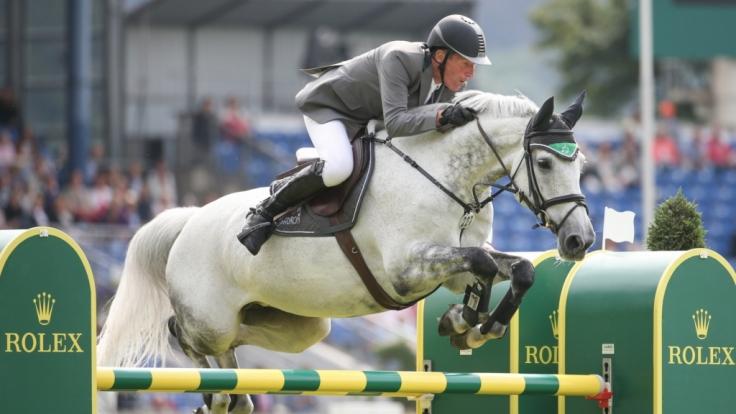 Ludger Beerbaum ist einer von 16 deutschen Reitern, die zu den Olympischen Spielen nach Rio gereist sind.