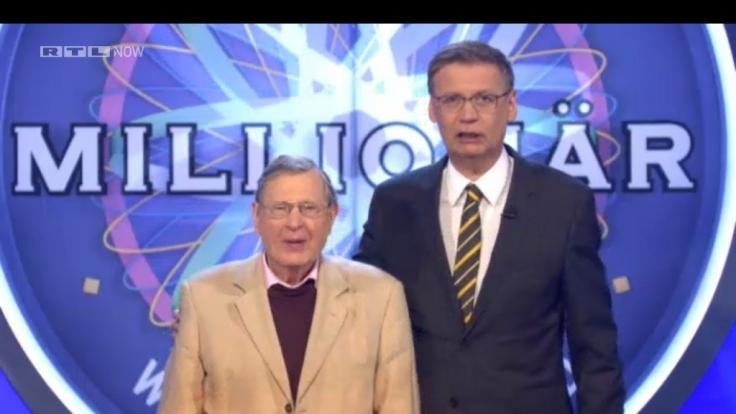 Karlheinz Reher und Günther Jauch - das neue Dreamteam bei «Wer wird Millionär?»