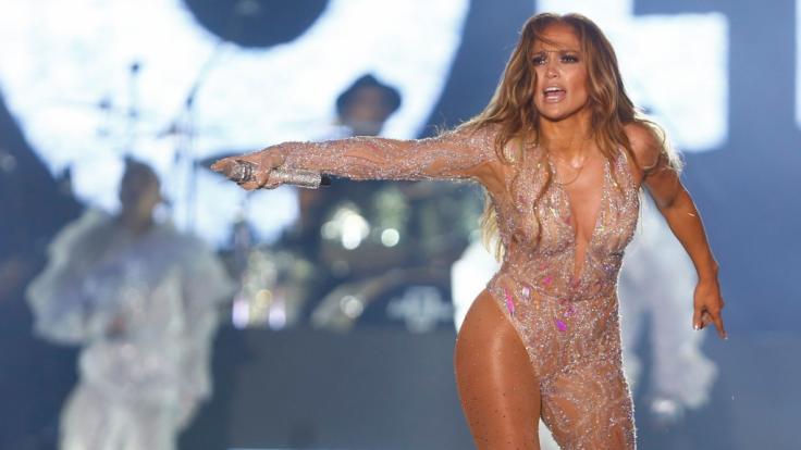 Jennifer Lopez krönte sich zur Nackedei-Königin. (Foto)