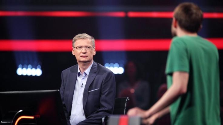"""Günther Jauch moderierte zum zweiten Mal seine neue Show """"500 - Die RTL Quiz-Arena"""". (Foto)"""