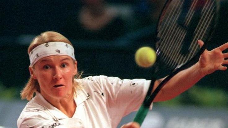 Tennisspielerin Jana Novotna ist im Alter von nur 49 Jahren gestorben. (Foto)
