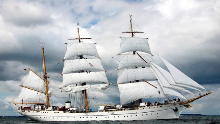 Das Segelschiff Gorch Fock steuert nach dem Tod zweier Kadetten in eine ungewisse Zukunft. (Foto)
