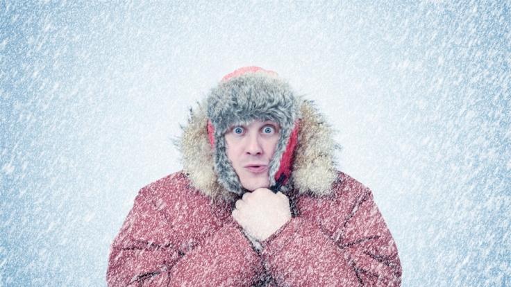 Der Winter kommt mit Schnee und Frost zurück. (Foto)