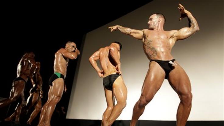 Bodybuilder wollen sich am meisten selbst gefallen. (Foto)