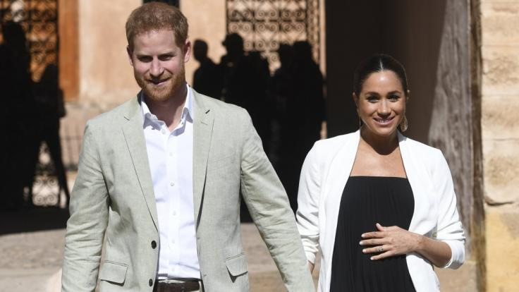 Prinz Harry und Meghan Markle freuen sich auf ihr gemeinsames Kind.