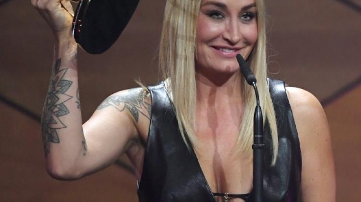 Sarah Connor verzückte mit diesem Hammer-Outfit. (Foto)