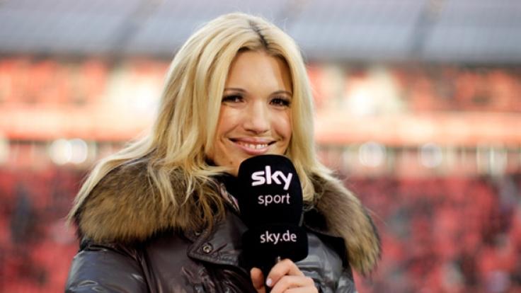 Die schöne Jessica Kastrop ist das Aushängeschild der Bundesliga-Berichtersttung beiSky. (Foto)
