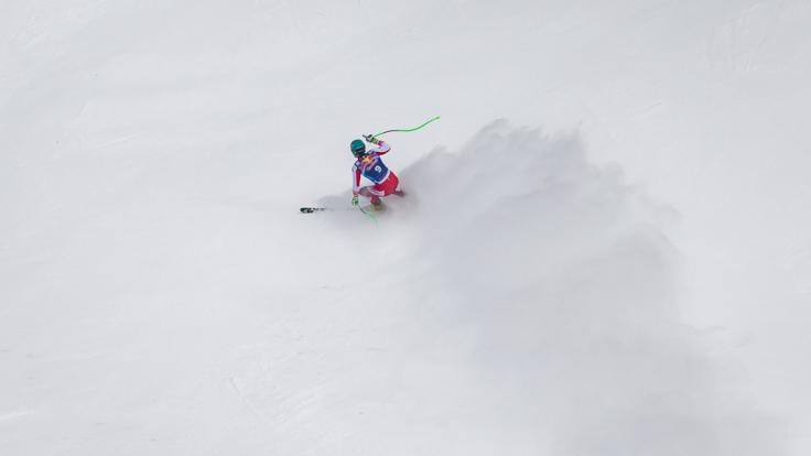 Die für Wengen (Schweiz) geplanten Ski-alpin-Rennen im Weltcup 2020/21 der Herren sind abgesagt worden - Slalom und Abfahrt werden im Januar 2021 nach Kitzbühel verlegt. (Foto)
