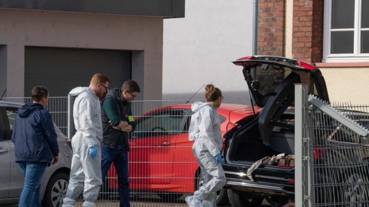In Limburg wurde eine Frau auf offener Straße getötet. (Foto)