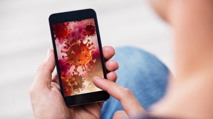 DerKölner Informatik-Professor und Biologe Timo Schinköthe hat eine Corona-App entwickelt. (Foto)