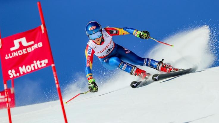 Bei der Ski alpin WM 2017 in St. Moritz steht an diesem Wochenende der Slalom der Damen und Herren an. (Foto)