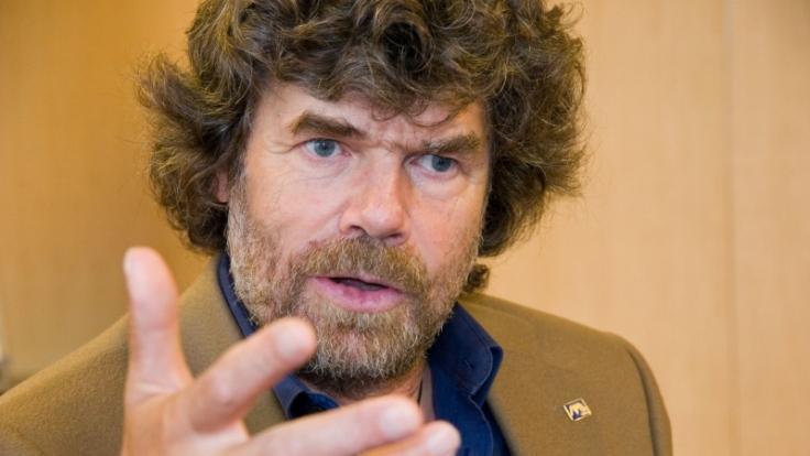 Reinhold Messner hat viel erreicht und viel erlebt. Am Ziel ist er aber auch mit 65 Jahren noch nicht. (Foto)