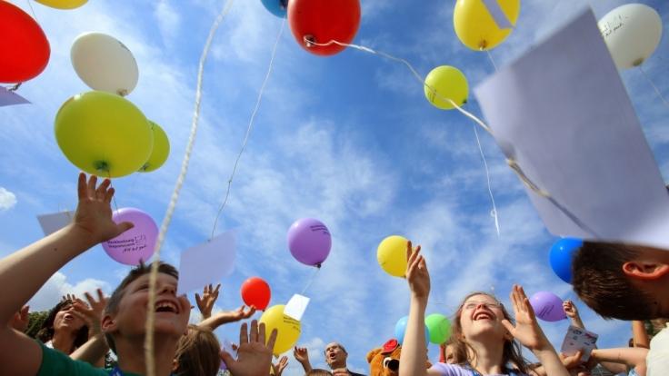 Am 1. Juni 2015 ist Kindertag.