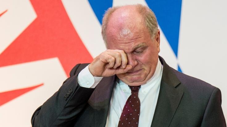 Erlebt Uli Hoeneß das Saisonende noch in Freiheit?
