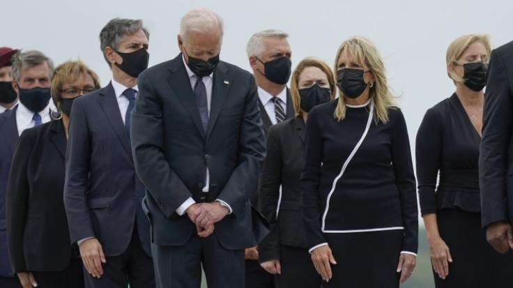 Joe Biden hat wieder einmal Ärger am Hals. (Foto)