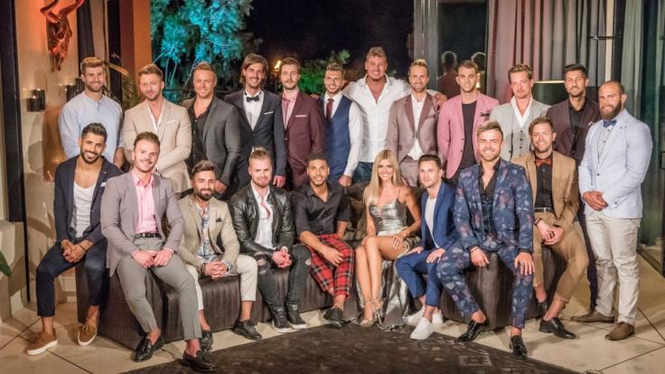 """Trotz der heftigen Psycho-Fragen haben sich auch in diesem Jahr wieder zahlreiche Single-Männer für die aktuelle """"Bachelorette""""-Satffel beworben. (Foto)"""