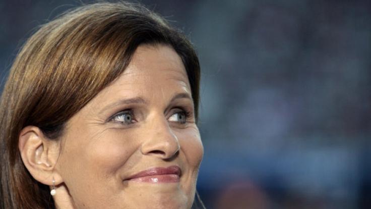 """Katrin Müller-Hohenstein moderiert beim ZDF das """"Sportstudio"""". (Foto)"""