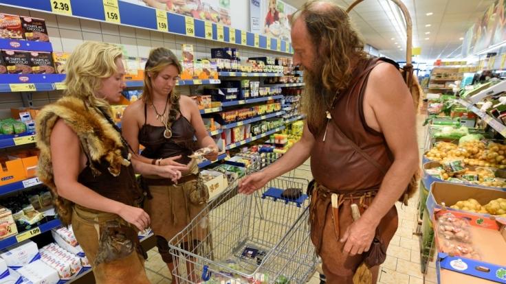 Für die Paleo-Ernährung kann man ganz einfach im Supermarkt einkaufen.