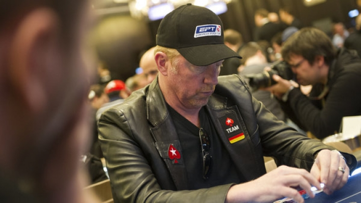 Boris Becker spielte 2013 bei der European Poker Tour in Berlin.