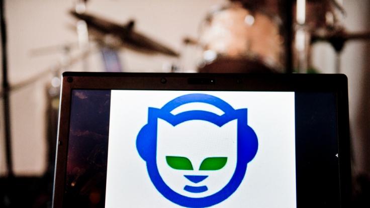 Napster und sein auffälliges Logo. (Foto)