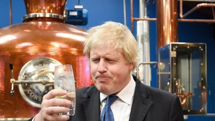 Vielleicht wäre Londons Bürgermeister, Boris Johnson, ja auch lieber professioneller Gin-Trinker geworden?