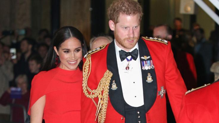 Für Meghan Markle und Prinz Harry war das